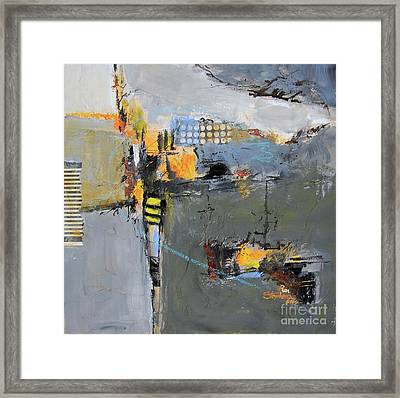 Getting There Framed Print by Ron Stephens