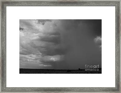 Getting Wet Framed Print by Adam Smith
