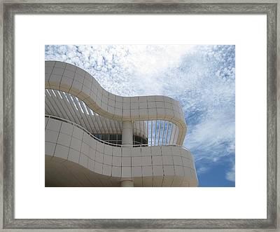 Getty Framed Print