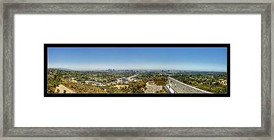 Getty Panorama Framed Print