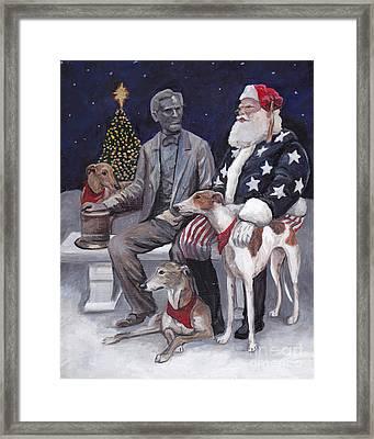 Gettysburg Christmas Framed Print by Charlotte Yealey