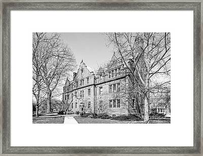 Gettysburg College Mc Knight Hall Framed Print by University Icons