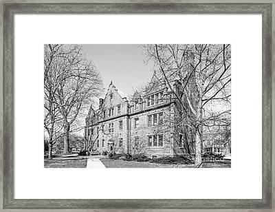 Gettysburg College Mc Knight Hall Framed Print