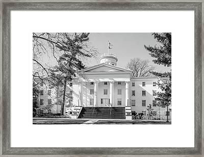 Gettysburg College Pennsylvania Hall Framed Print