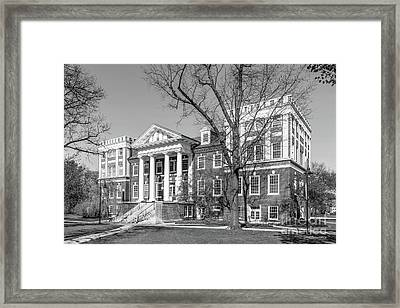 Gettysburg College Weidensall Hall Framed Print by University Icons