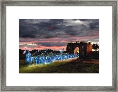 Gettysburg Evergreen Framed Print