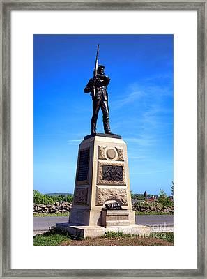 Gettysburg National Park 11th Pennsylvania Infantry Memorial Framed Print