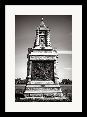 National Military Parks Framed Prints