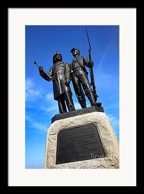 Fire Zouaves Framed Prints
