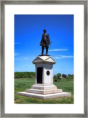 Gettysburg National Park Abner Doubleday Memorial Framed Print by Olivier Le Queinec