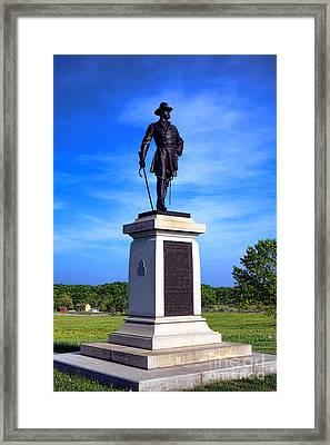 Gettysburg National Park Brigadier General Alexander Webb Memorial Framed Print