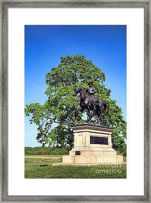 Gettysburg National Park John Fulton Reynolds Memorial Framed Print