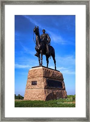 Gettysburg National Park Major General George Mead Memorial Framed Print