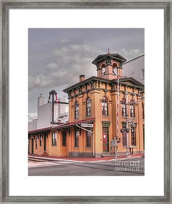 Gettysburg Station Framed Print by David Bearden