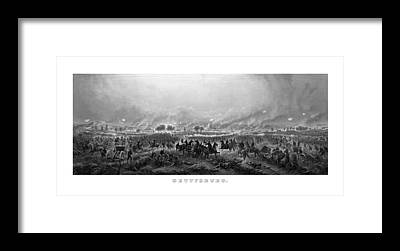 Gettysburg Battlefield Framed Prints