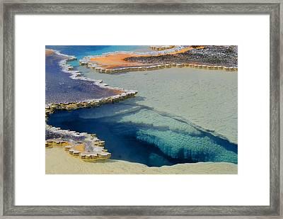 Geyser Framed Print by Patrick  Flynn