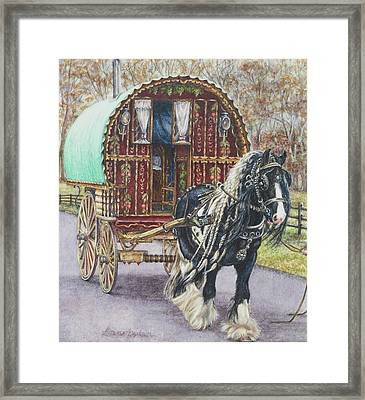 G G L Divo's Pride And Glory Framed Print