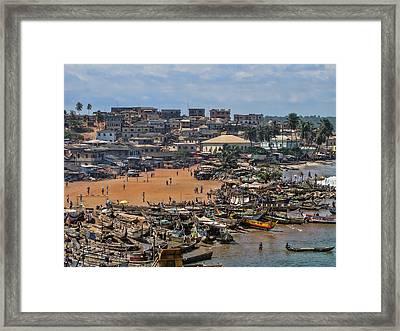 Ghana Africa Framed Print
