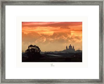 Ghaxaq Sebh - Delightful Sunrise Framed Print