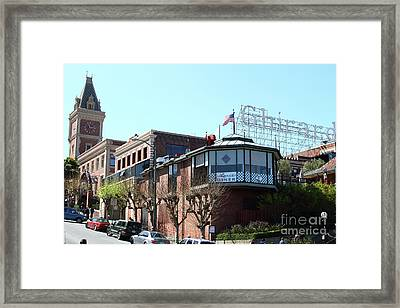 Ghirardelli Chocolate Factory San Francisco California 7d14093 Framed Print