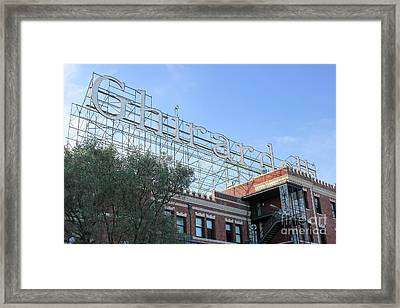 Ghirardelli Square Framed Print