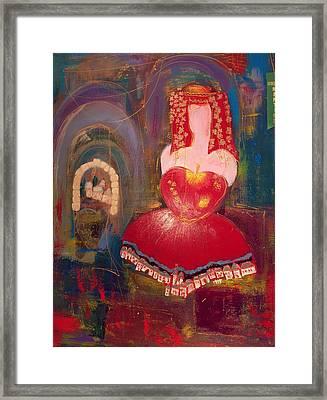 Ghismonda Framed Print