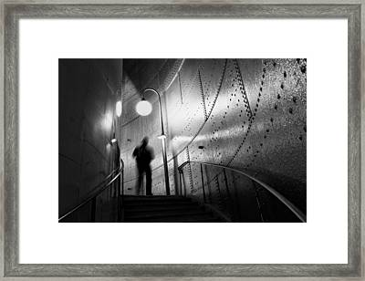 Ghost Framed Print by Art Lionse