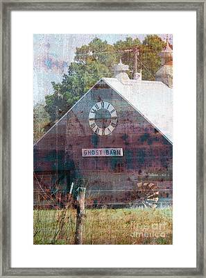 Ghost Barn Texas #772 Framed Print