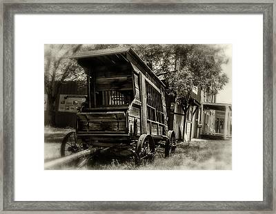 Ghost Busters Framed Print by Marnie Patchett