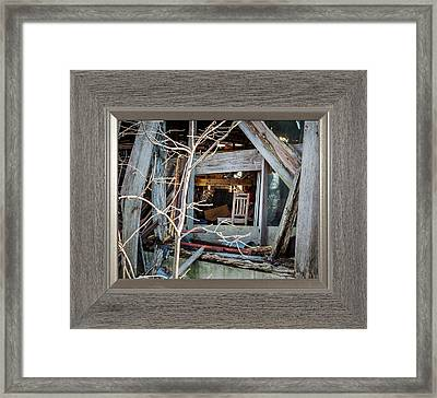 Ghost Chair Framed Print