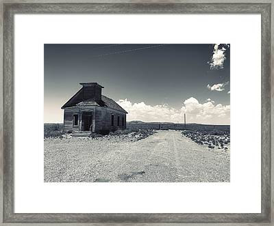 Ghost Church Framed Print