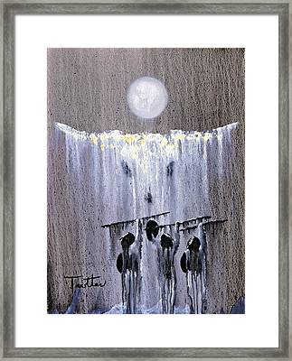 Ghost Dance Framed Print by Patrick Trotter