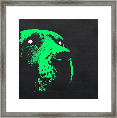 Ghost Dog Framed Print by Edouard Coleman