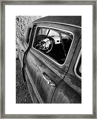 Ghost Driver Framed Print