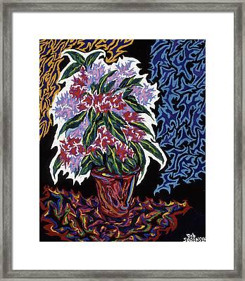 Ghost Flower Framed Print by Robert SORENSEN