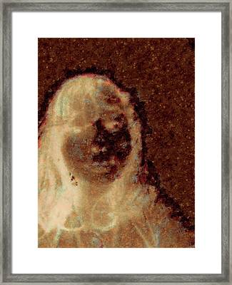 Ghost Girl Framed Print