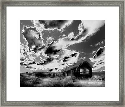 Framed Print featuring the photograph Ghost House by Jim and Emily Bush