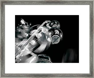 Framed Print featuring the photograph Ghost In The Machine by Wayne Sherriff