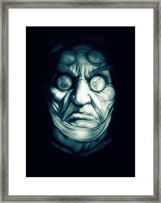 Ghost Marley Framed Print by Fred Larucci