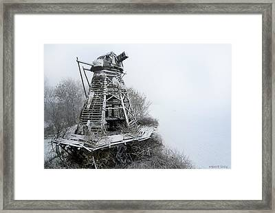 Ghost Mill Framed Print by Robert Lacy