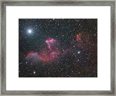 Ghost Of Cassiopeia Framed Print