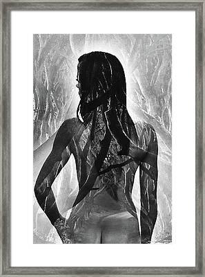 Ghost Of Eve Framed Print