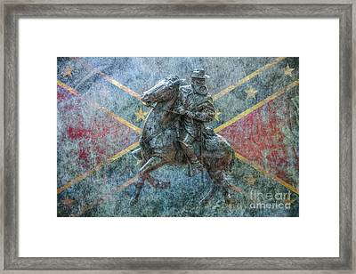 Ghost Of Gettysburg Verson Three Framed Print by Randy Steele
