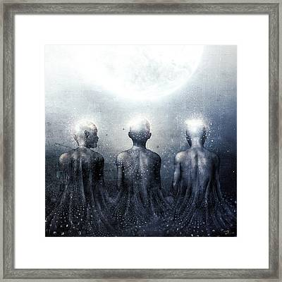 Ghost Of Jatun Framed Print by Cameron Gray
