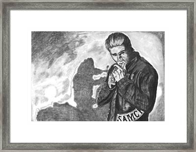 Ghost Of John Teller Framed Print