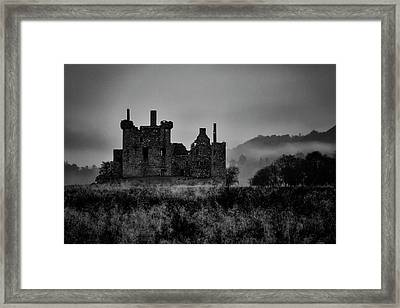 Ghost Of Kilchurn Framed Print by Guy Shultz