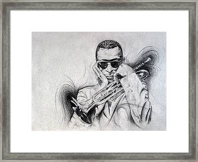 Ghost Of Miles Past Framed Print