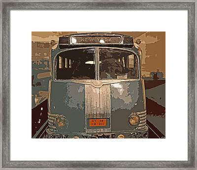 Ghost Of New York Framed Print
