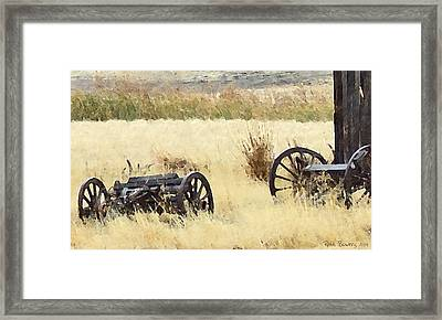 Ghost Of The Oregon Trail Framed Print