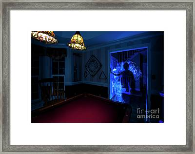 Ghost Of The Parlor Framed Print